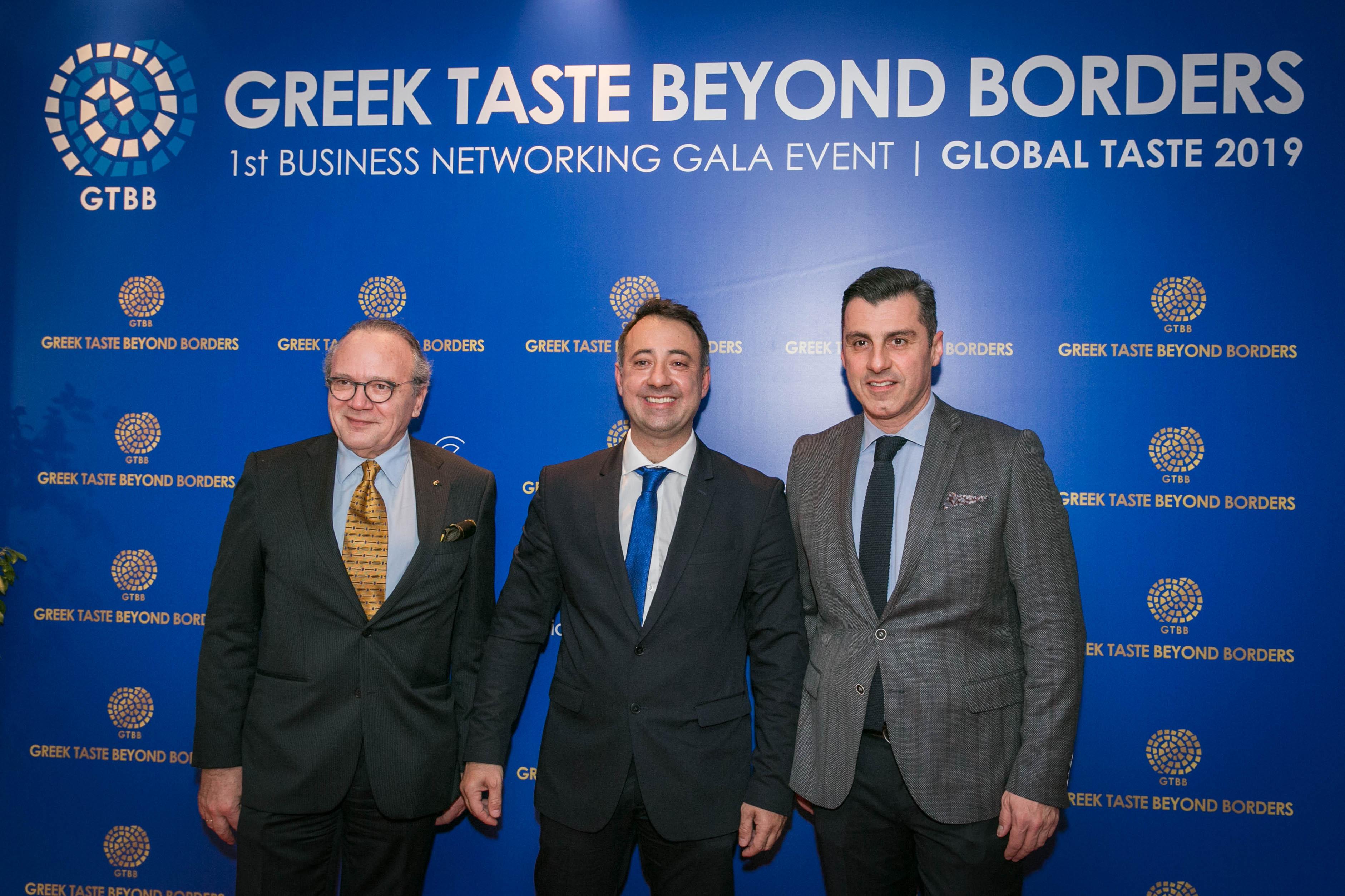 (Από αριστερά) Ο κ.Κωνσταντίνος Κατσιγιάννης, ο κ.Φίλιππος Κούτρας και ο κ.Ανέστης Ποδόγυρος (Π.Δ. Εταιρίας Κρι-Κρι).